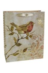 Пакет подарочный Птичка