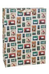 Пакет подарочный Веселые марки