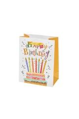 Пакет подарочный Торт со свечами