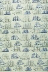 Бумага упаковочная Корабли