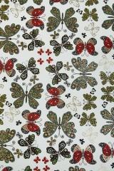 Бумага упаковочная Порхающие бабочки
