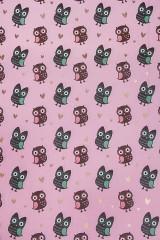 Бумага упаковочная Озорные совы