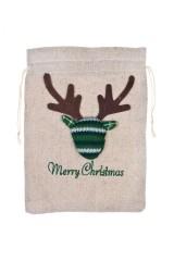 Мешок подарочный Счастливого Рождества