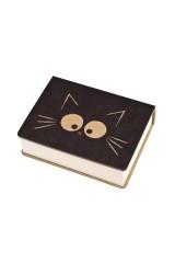 Записная книжка Задумчивый котик