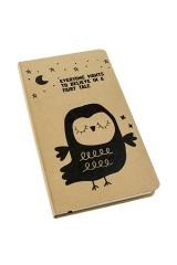 Записная книжка Задумчивая сова
