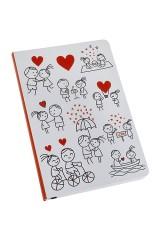 Записная книжка Комикс о любви