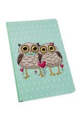 Записная книжка Влюбленные совы