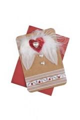 Открытка подарочная Крылья любви