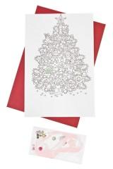 Набор новогодний для создания открытки Елочка