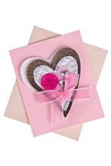 Открытка подарочная Чуткое сердце