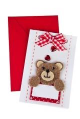 Открытка подарочная Медвежонок