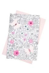 Набор для создания открытки Цветочки