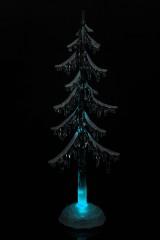 Украшение новогоднее светящееся Елка в снегу