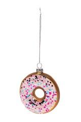 Украшение елочное Вкусный пончик