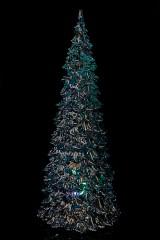 Украшение новогоднее светящееся Елочка