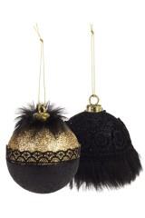 Набор шаров елочных Чарующая роскошь