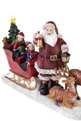 Украшение новогоднее светящееся Время подарков