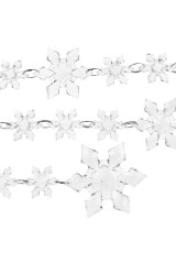 Гирлянда декоративная Снежинки