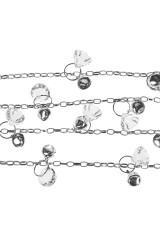 Гирлянда декоративная Кристаллы и бубенцы
