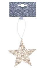 Украшение декоративное Жемчужная звезда