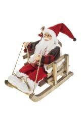 Украшение новогоднее Дед Мороз на санках