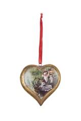 Украшение новогоднее Сердце - Новогодняя сказка