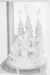 Украшение для интерьера светящееся Дом в лесу