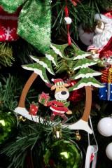 Украшение новогоднее Веселый лосик
