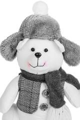 Игрушка Мишка в шапке-ушанке