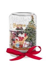 Украшение новогоднее Дед Мороз у камина