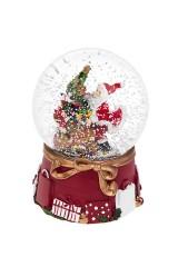 Шар со снегом Дед Мороз дарит подарки