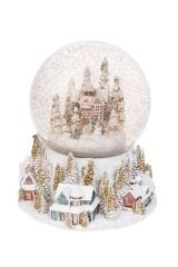 Шар со снегом Зимние забавы
