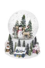 Шар со снегом Зимняя сказка
