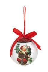 Шар елочный Дед Мороз с подарками