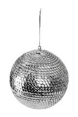 Шар елочный Серебряная россыпь