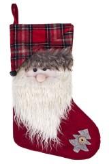 Украшение декоративное Носок - Дед Мороз
