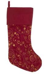Рождественский носок Волшебный узор