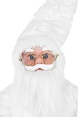 Украшение новогоднее музыкальное и двигающееся Дед Мороз с мешком подарков