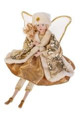 Украшение интерьерное музыкально-двигающееся Зимний ангел