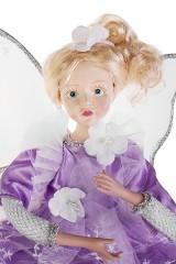 Украшение интерьерное музыкально-двигающееся Девочка-ангел