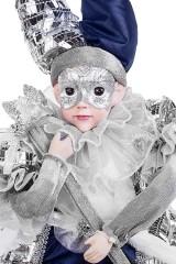 Украшение интерьерное музыкально-двигающееся Арлекин в маске