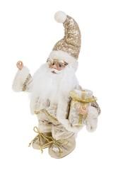 Украшение новогоднее музыкально-двигающееся Дед Мороз с подарком