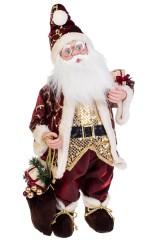 Украшение новогоднее музыкально-двигающееся Дед Мороз с подарочками