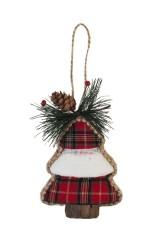 Украшение новогоднее Клетчатая елка
