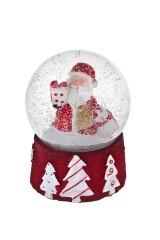 Украшение новогоднее Шар - Дед Мороз с подарками