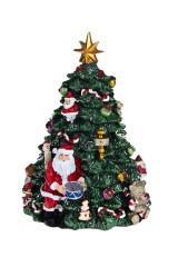 Украшение новогоднее музыкальное и двигающееся Елочка и Дед Мороз