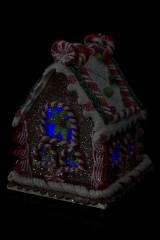 Украшение для интерьера светящееся Домик пряничной семьи