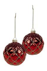 Набор шаров елочных Рождественский