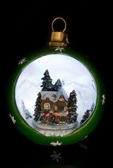 Украшение новогоднее Домик в лесу