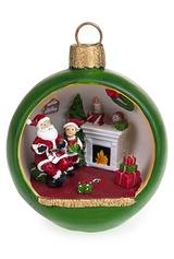 Украшение новогоднее Санта с подарками
